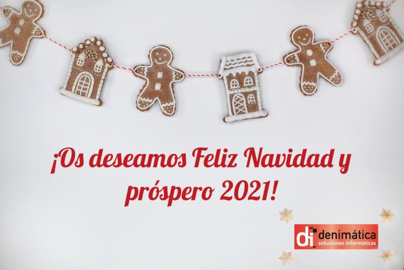 Denimática os desea Feliz Navidad y Próspero 2021